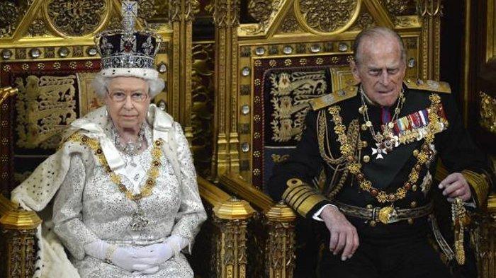 Surat Cinta Terakhir Ratu Elizabeth Terselip di Peti Mati Pangeran Philip, Ungkap Panggilan Sayang