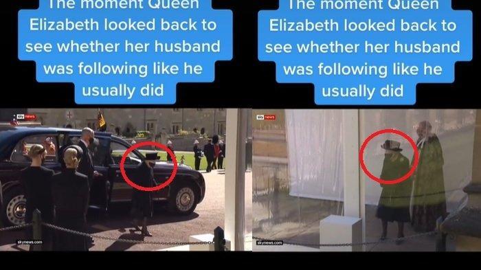 VIRAL Momen Ratu Elizabeth Rindu Mendiang Suami, Terus Tatap Arah Pangeran Philip Biasa Menemani