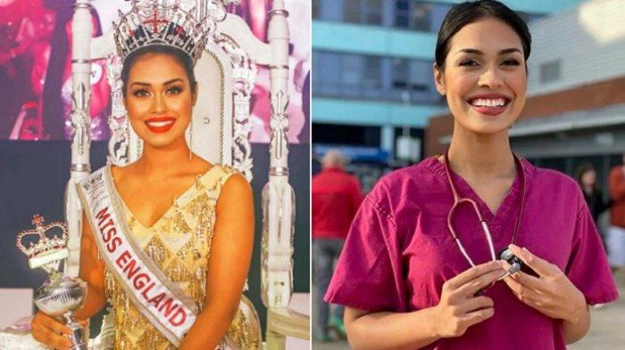 Tinggalkan Mahkota Ratu Kecantikan, Gadis Ini Pilih Kerja Jadi Dokter Lagi untuk Lawan Corona