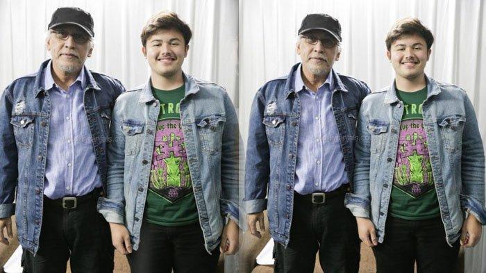 Raya Rambu bersama sang ayah Iwan Fals