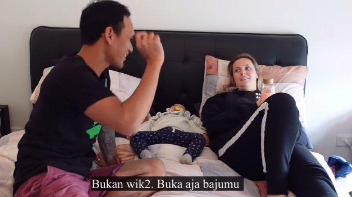 Reaksi Kocak Bule Cantik Diminta Suami Buka Baju saat Sakit, akan Diobati: Saya Tidak Mau Wikwik