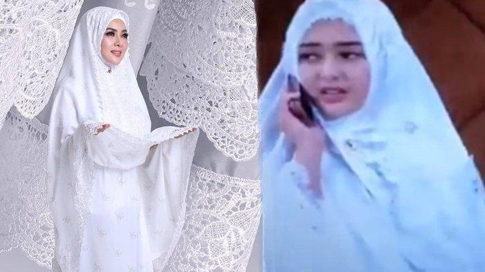 Syahrini Bereaksi Amanda Manopo 'Andin' Pakai Produk Mukenanya di Ikatan Cinta, Harga Jutaan Rupiah