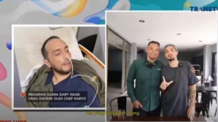 Rekaman suara Gary Iskak ke Chef Haryo