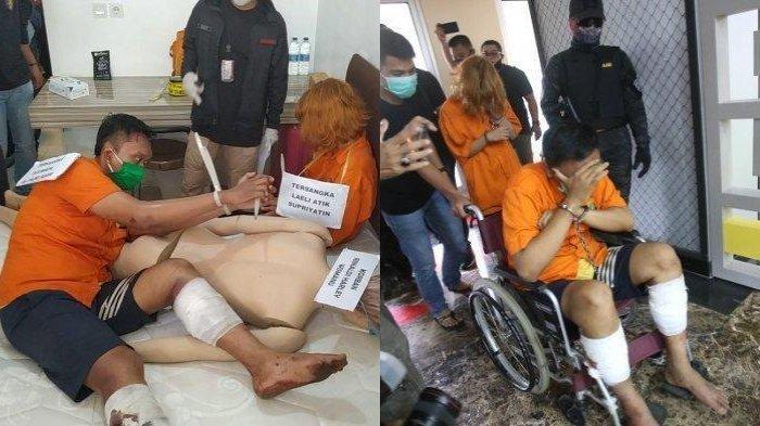 rekonstruksi kasus pembunuhan sekaligus mutilasi Manajer HRD