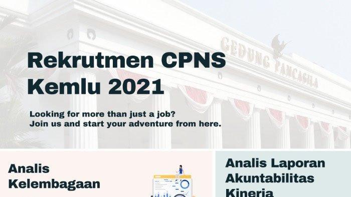 CPNS 2021 - Daftar Formasi Kementerian Luar Negeri, Lulusan S1, Jurusan Komunikasi hingga Manajemen