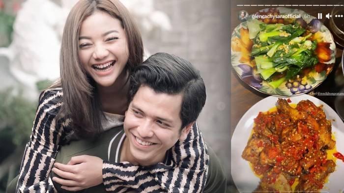 Semakin Dekat, Rendi Jhon Pratama Rela Memasak untuk Glenca Chysara, Buat 2 Makanan & 'Bunga' Ini