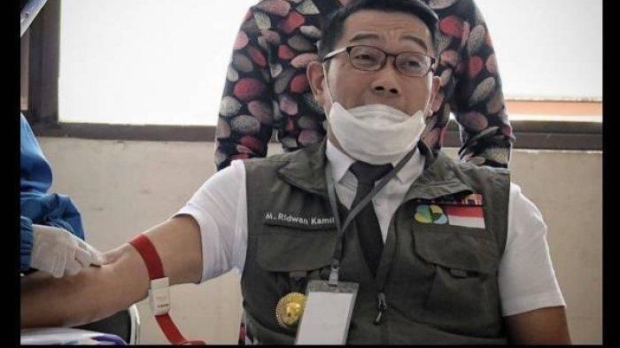 2 EFEK SAMPING yang Dirasakan Ridwan Kamil Setelah Divaksin Sinovac, Rasakan Ini Selama 1 Jam