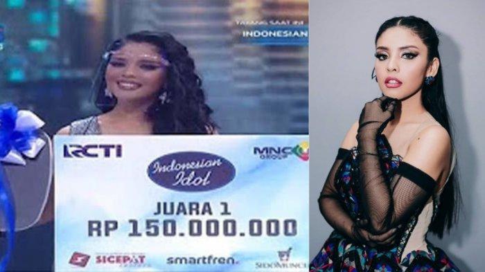 Menang Juara 1 Indonesian Idol 2021, Ini Total Hadiah untuk Rimar Callista, Finalis 4-14 Juga Dapat