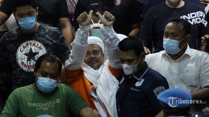 Rizieq Shihab Dicecar 84 Pertanyaan, akan Ditahan Sampai 31 Desember, Polisi Ungkap Alasannya