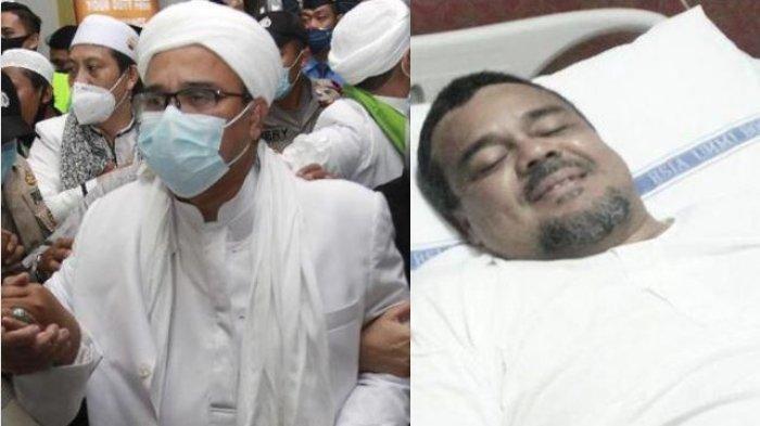 Kabar Rizieq Shihab kabur mendadak heboh. Kuat dugaan pimpinan FPI kabur lewat pintu belakang rumah sakit.