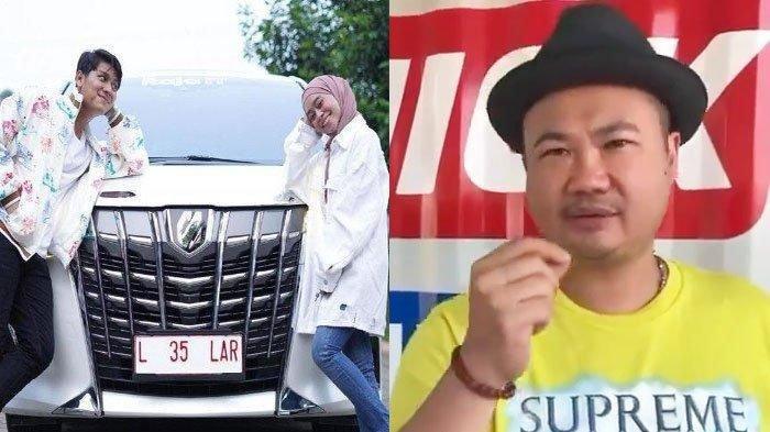 DITANYA Atas Nama Siapa Mobil Hadiah Pernikahan Lesti, Rizky Billar Gelagapan: Ya Nanti Balik Nama