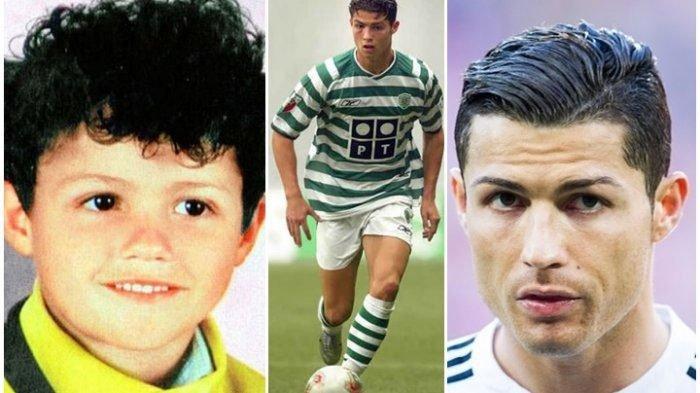 Cristiano Ronaldo Ultah, Intip 6 Foto Transformasinya: Masa Kecil di Portugal, Kini Karier Gemilang