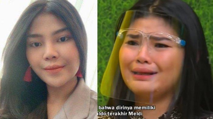Rosa Meldianti menangis saldo tinggal Rp 150 ribu