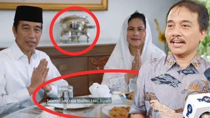 Soroti Panci, Roy Suryo Analisis Video Ucapan Lebaran Presiden Jokowi, Gus Nadir Beri Sindiran Ini