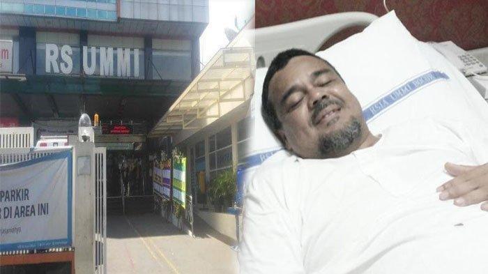 Habib Rizieq Disebut Pulang Paksa dari Rumah Sakit, FPI Membantah Tegas, RS Ummi Bongkar Fakta Ini