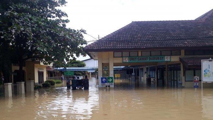 Rumah Sakit di Karawang Kebanjiran, Pasien Covid Kabur saat Petugas Sibuk Evakuasi, Ini Kronologinya