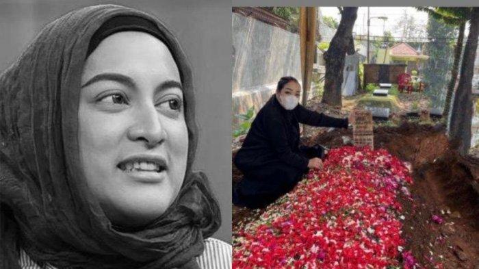 MUNCUL Tangan Misterius di Foto Makam Jane Shalimar, Sahabat Buka Suara, Terkuak Fakta Sebenarnya