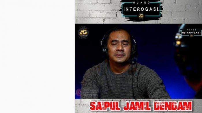 Saipul Jamil bareng Gilang Dirga