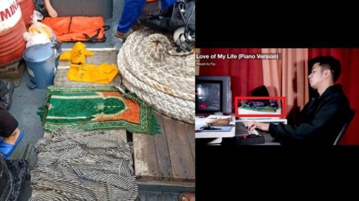 Sajadah Hijau Faisal Rahman Korban Sriwijaya Air Ketemu, Sama dengan yang di Video 'Lofe of My Life'