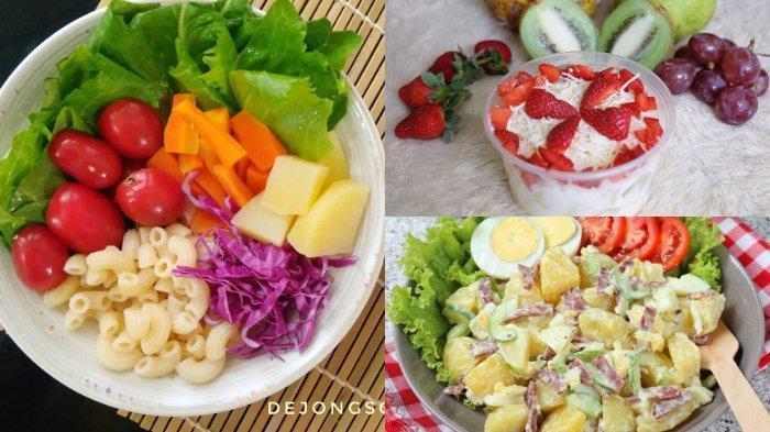 Kreasi Masakan Sehat Di Rumah Ini 10 Resep Salad Sayur Dan Buah Menu Yang Cocok Untuk Diet Tribunnewsmaker Com