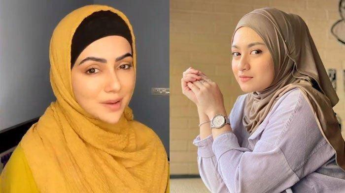 4 Artis Rayakan Idul Fitri 2021 untuk Kali Pertama setelah Jadi Mualaf: Sana Khan hingga Nathalie