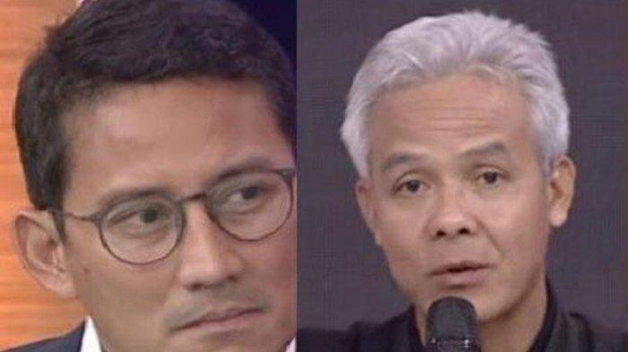 Disebut 'Duet Maut', Relawan Jokowi Jagokan Ganjar Pranowo & Sandiaga Uno Koalisi di Pilpres 2024