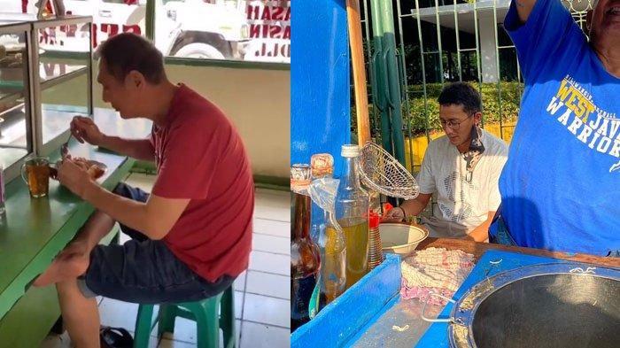 Potret 3 Orang Terkaya Indonesia Makan di Pinggir Jalan, Pakai Kaus & Celana Pendek Tanpa Kemewahan