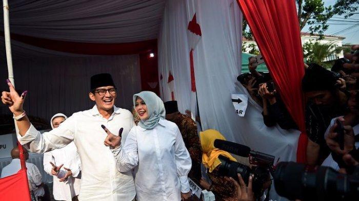 Istri Sandiaga Uno, Nur Asia Uno Positif Covid-19, Mantan Wakil Gubernur DKI Itu Ungkap Kondisinya
