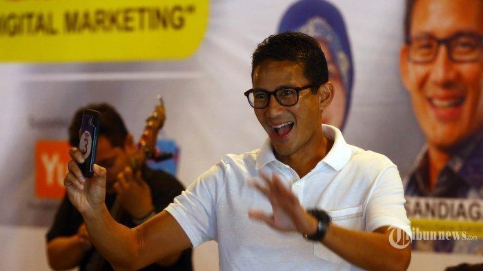 Gandeng Kemenpora, Sandiaga Uno Paparkan Strategi Penyelenggaraan Sport Tourism, Ini Penjabarannya