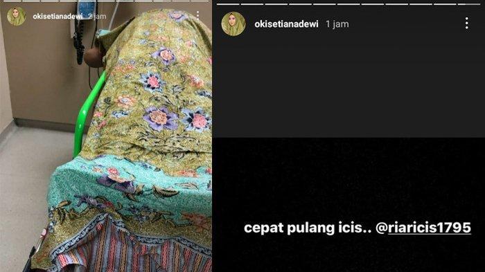 Ayah Oki Setiana Dewi Meninggal, Kakak Ria Ricis Pilu Pandangi Jasad sang Ayah: Cepat Pulang Icis