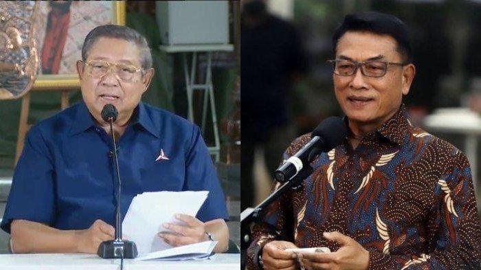Kubu Moeldoko Respon Menohok Somasi SBY, Sebut 'Dagelan Konyol' : Lagi Dikejar Karma Luar Biasa
