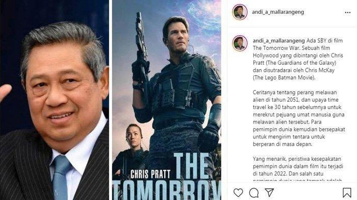 Andi Mallarangeng Banggakan SBY Muncul di Film The Tomorrow War: Padahal Sudah Tak Menjabat Presiden