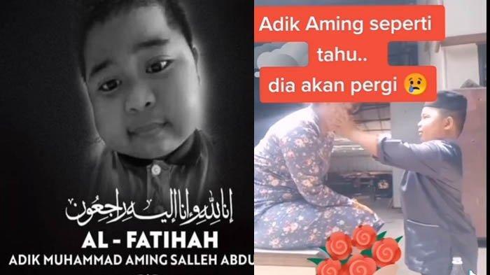 SIAPA Muhammad Aming Bocah Meninggal Hari ini? WasiatTerakhir 'Ibu, Tutuplah Aurat dan Jaga Bapak'