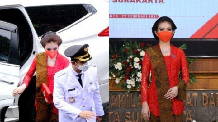 CANTIKNYA Selvi Ananda Pakai Kebaya Jawa di Pelantikan Gibran, Menantu Jokowi Anggun Bak Putri Raja