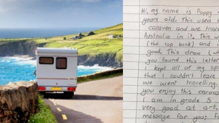Beli Mobil Bekas, Keluarga Ini Temukan Surat dari Bocah 10 Tahun, Tinggalkan Benda Unik: 'Ada Pesan'