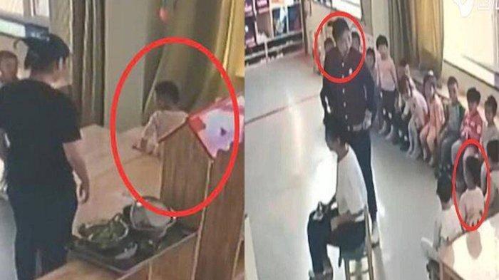 Ibu Curiga Tubuh Anak Memar Sepulang Sekolah, Diam-diam Pasang CCTV di Kelas, Syok Lihat Ulah Guru