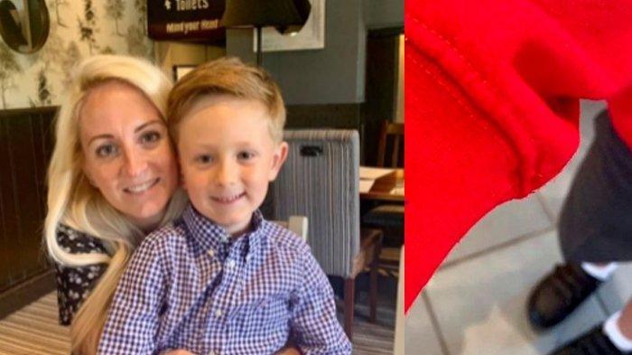 Anaknya Cemas Masuk Sekolah, Ibu Ini Tak Kehabisan Ide, Permak Jaket Putranya Jadi Begini: Berhasil!