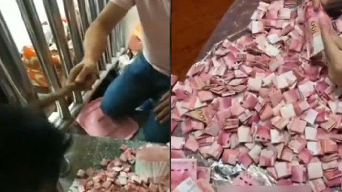 Kebaikan Hati Petugas Kebersihan Stasiun di Bogor, Kembalikan Uang Rp 500 Juta dalam Plastik