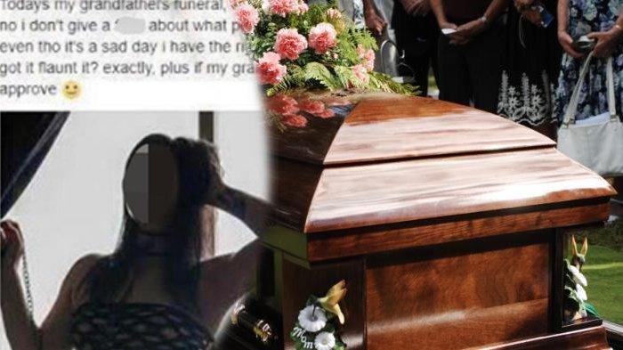 Hadiri Pemakaman Sang Kakek, Wanita Ini Cuek Pakai Gaun Terlalu Seksi: 'Seperti yang Saya Rasakan'