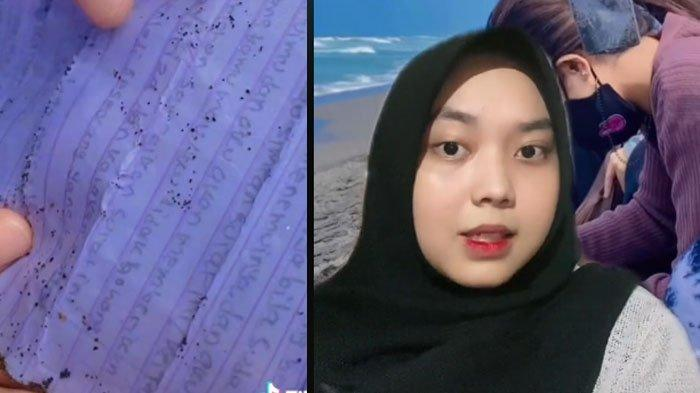 VIRAL di TikTok, Wanita Temukan Botol Isi Surat saat ke Pantai, Ditulis 6 Tahun Lalu, Ada Pesan Ini