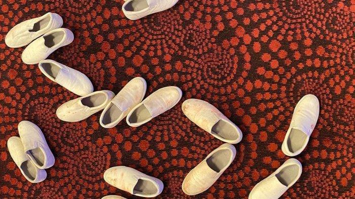 Sepatu Vans di seri Squid Game 1