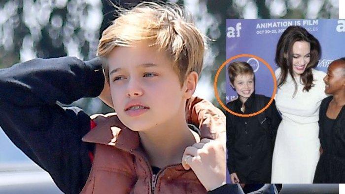 VIRAL Sosok Shiloh, Anak Cewek Angelina Jolie & Brad Pitt, Wajah Ganteng Hingga Disangka Transgender
