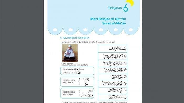 Kunci Jawaban Agama Islam Kelas 5 Pelajaran 6 Hal 57 Siapakah Pendusta Agama Dalam Surat Al Maun Tribunnewsmaker Com