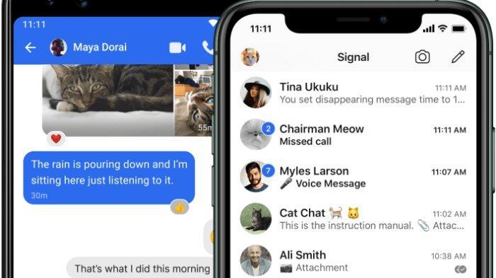 Elon Musk Pakai Signal, Pesaing WhatsApp yang Diklaim Lebih Aman Karena Tak Simpan Data Pengguna