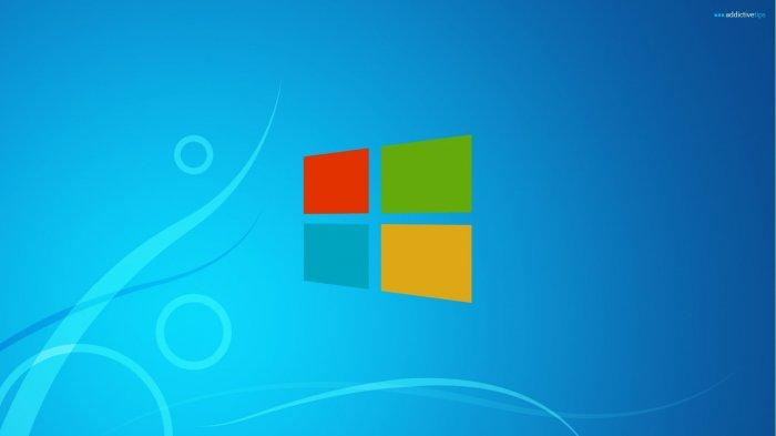 Sistem Operasi Microsoft Windows 10.