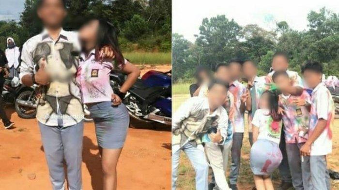 Fakta Aksi Corat-coret Siswa SMA di Riau Saat Kelulusan, Viral & Dikecam Publik, Disorot Kemdikbud