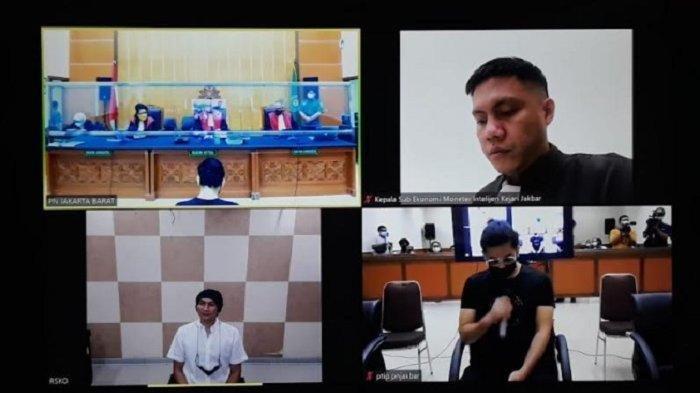 Situasi di Ruang Sidang, di Pengadilan Negeri (PN) Jakarta Barat, Rabu (22/9/2021).