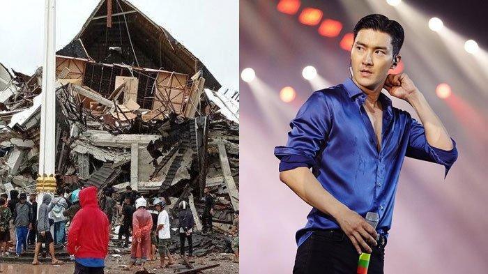 Siwon Super Junior Sampaikan Duka Mendalam untuk Bencana Gempa Sulawesi Barat: Sungguh Menyakitkan