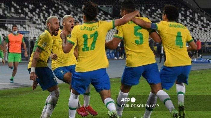 DAFTAR Top Skor Copa America 2021, Neymar Bersama Brazil Jadi Pemuncak Pencetak Gol Terbanyak