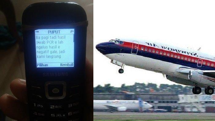 SMS Terakhir Penumpang Sriwijaya Air SJ-182 ke Ayahnya Sebelum Take Off: Pesawat Delay, Hujan Deras